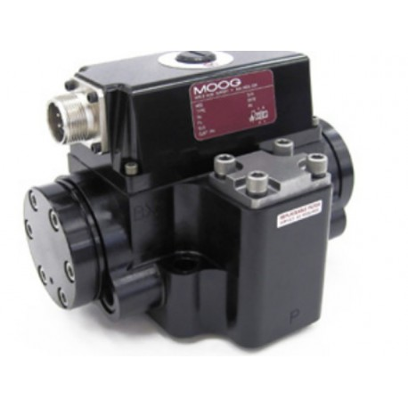 MOOG Servo Valves Pilot Operated Flow Control Valve with Analog Interface 72 Series