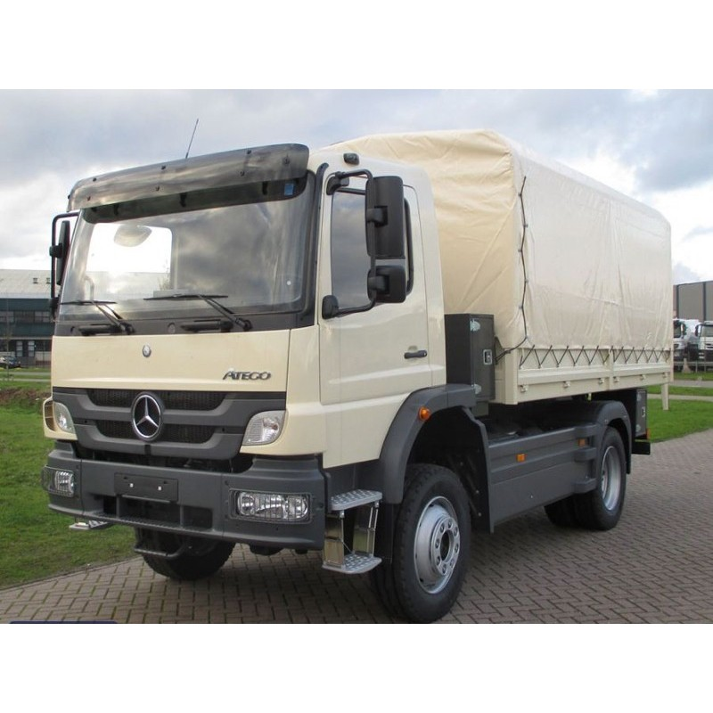 Inteligentny Mercedes Benz ATEGO light truck - MSS Defence HR28
