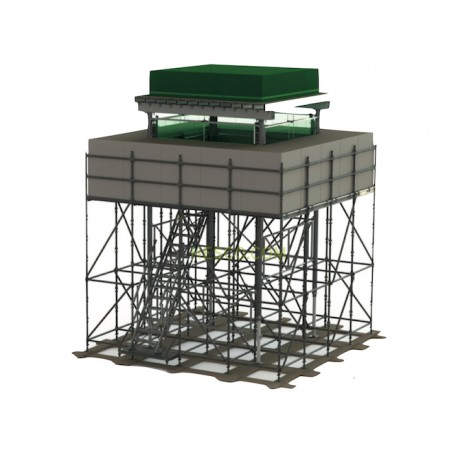 HESCO® - Elevated Sangar - protective structure