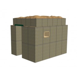 HESCO® - Guard Post - protective structure