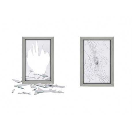 Bomb-Blast Protection Window Film