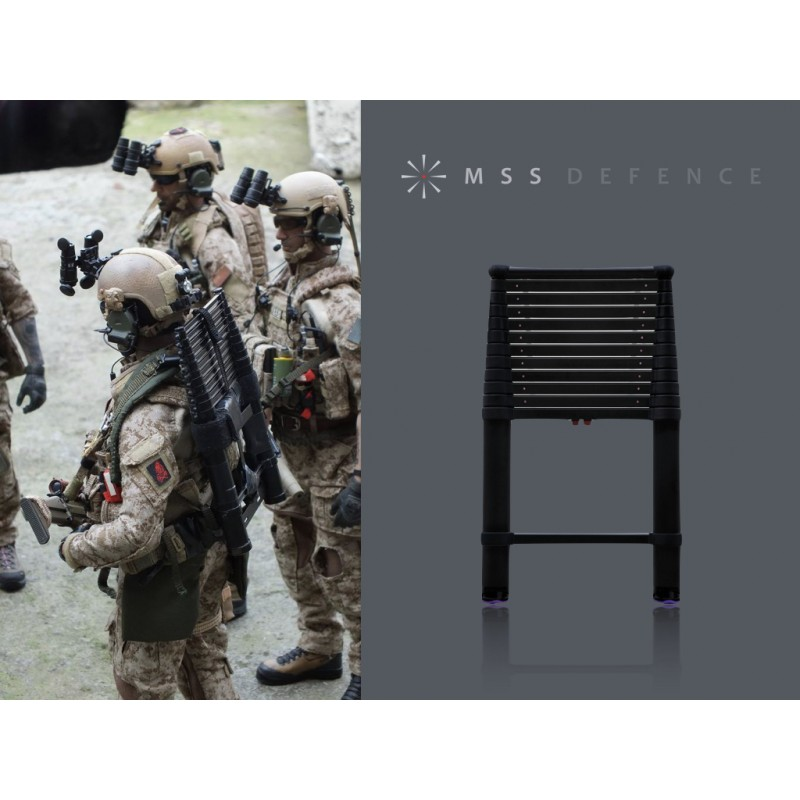 16 Military Tactical Extension Ladder
